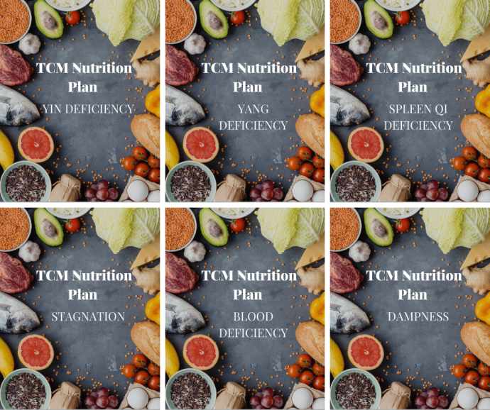 TCM nutrition ebook cover images