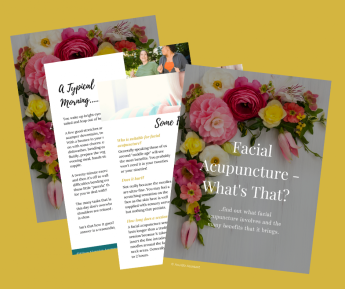 facial acupuncture ebook image 3