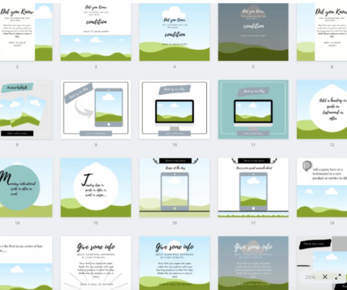 social media templates product image