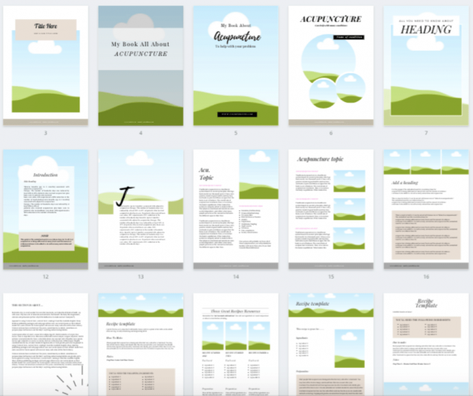 ebook templates product image