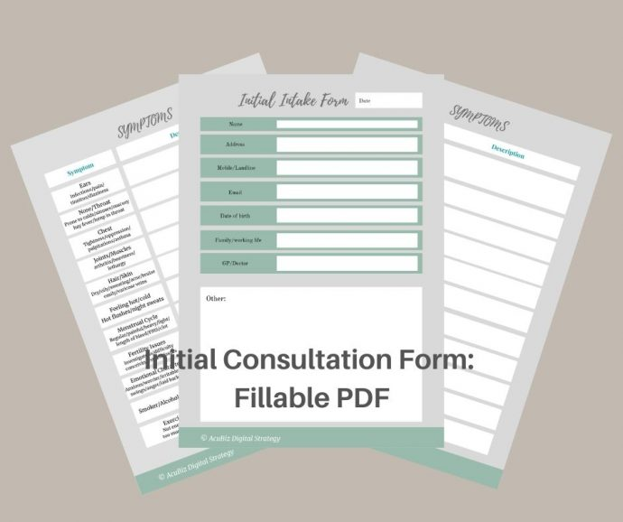 fillable consultation form